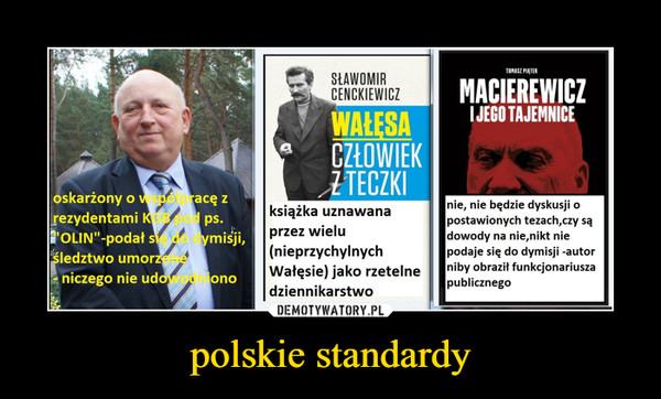 polskie standardy –