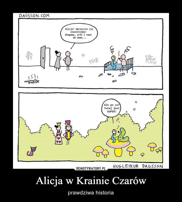 Alicja w Krainie Czarów – prawdziwa historia
