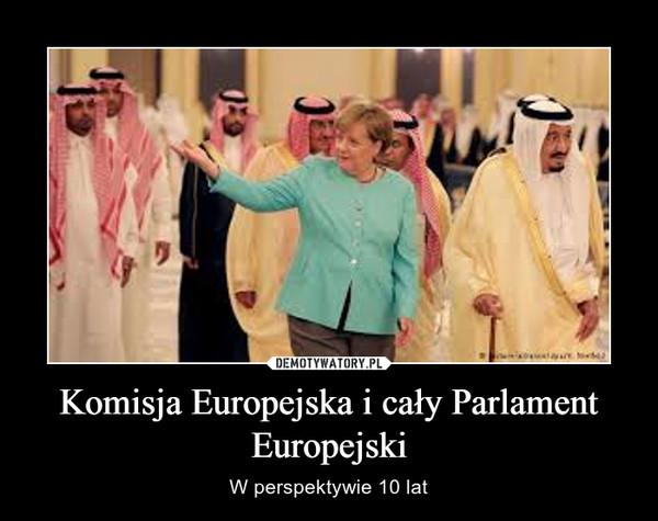 Komisja Europejska i cały Parlament Europejski – W perspektywie 10 lat