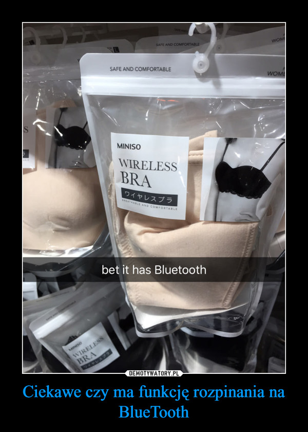 Ciekawe czy ma funkcję rozpinania na BlueTooth –