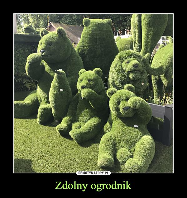 Zdolny ogrodnik –