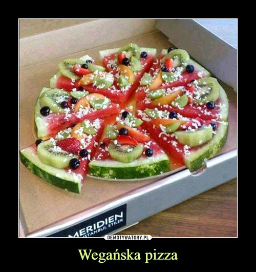 Wegańska pizza