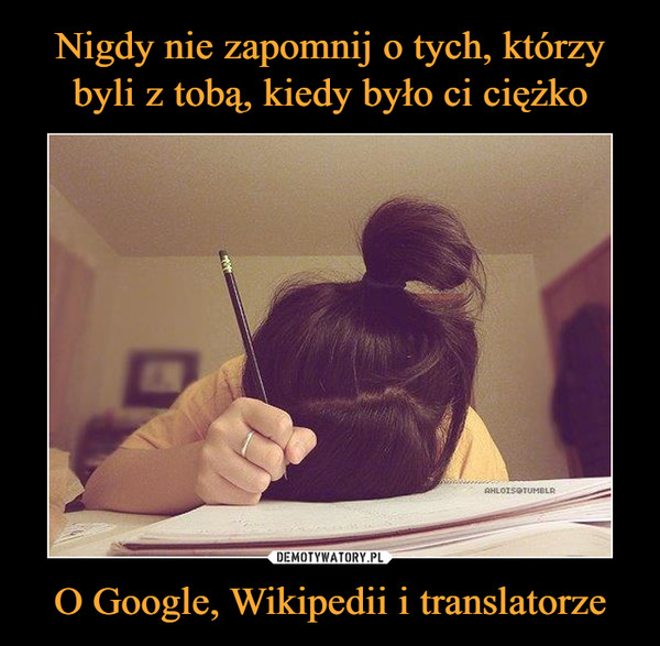 O Google, Wikipedii i translatorze –