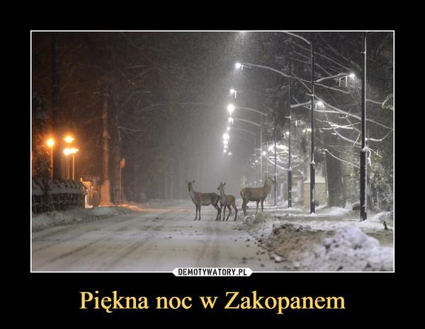Piękna noc w Zakopanem –