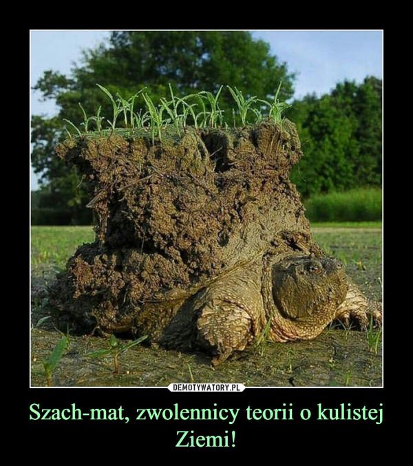 Szach-mat, zwolennicy teorii o kulistej Ziemi! –
