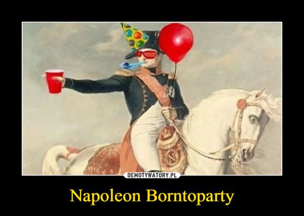 Napoleon Borntoparty –