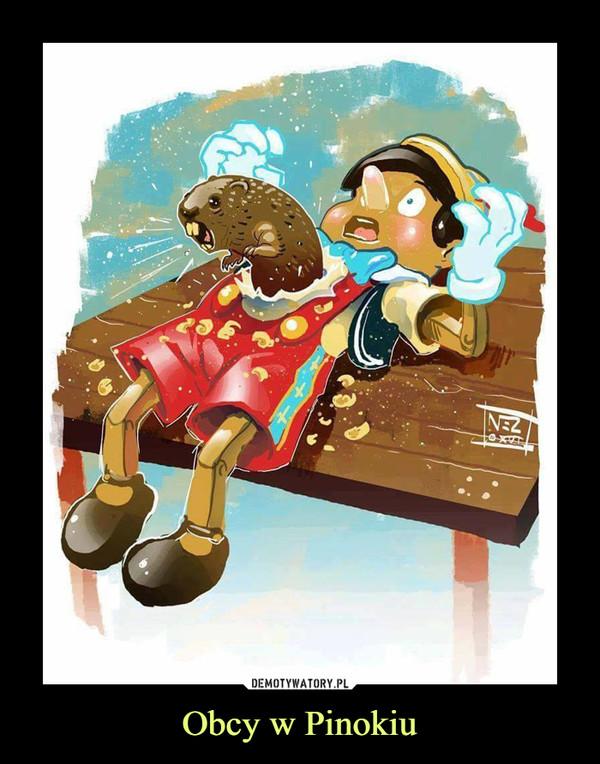 Obcy w Pinokiu –