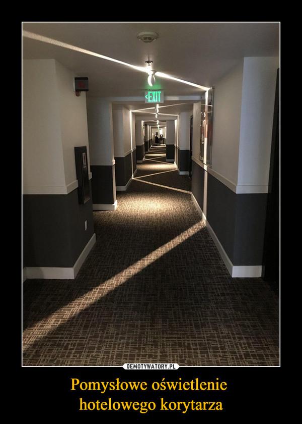 Pomysłowe Oświetlenie Hotelowego Korytarza Demotywatorypl