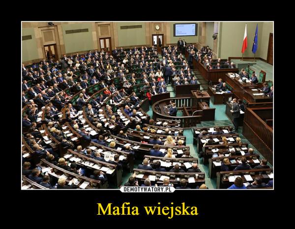 Mafia wiejska –