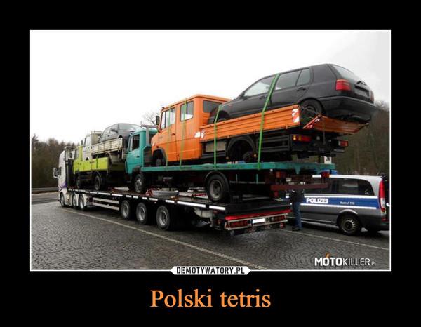 Polski tetris –