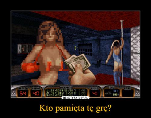 Kto pamięta tę grę?