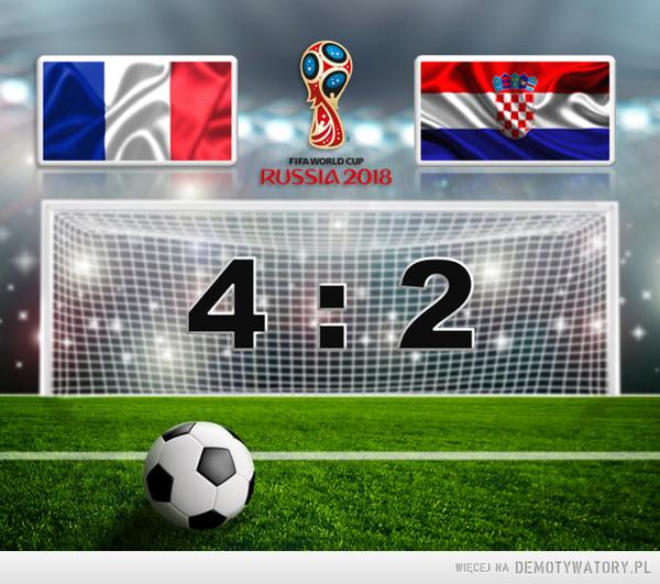 Francja zostaje Mistrzem Świata –
