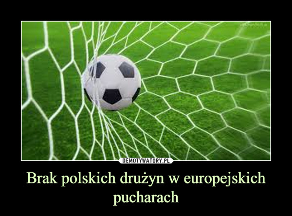 Brak polskich drużyn w europejskich pucharach