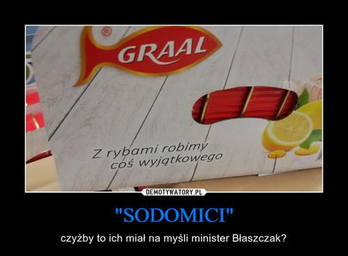 """SODOMICI"""