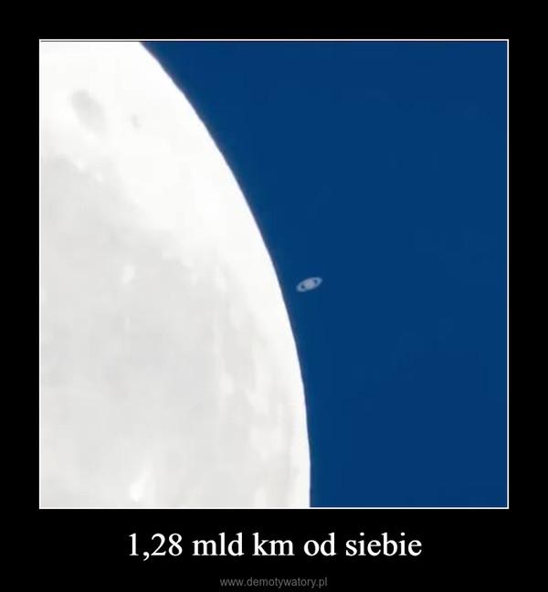 1,28 mld km od siebie –
