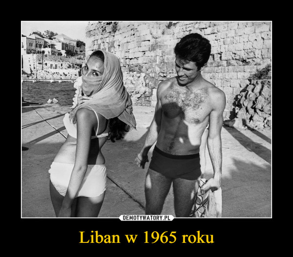 Liban w 1965 roku –