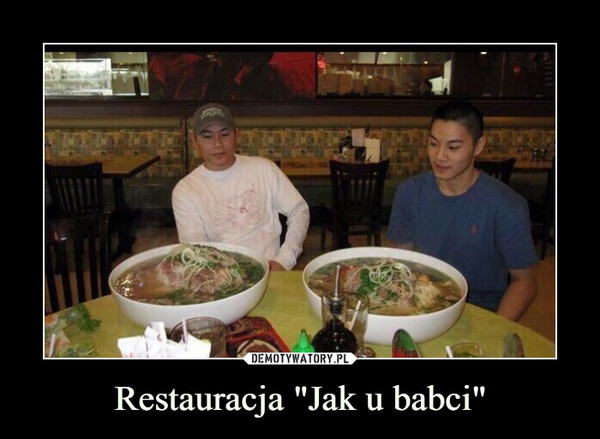 "Restauracja ""Jak u babci"" –"