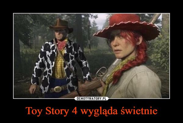 Toy Story 4 wygląda świetnie –