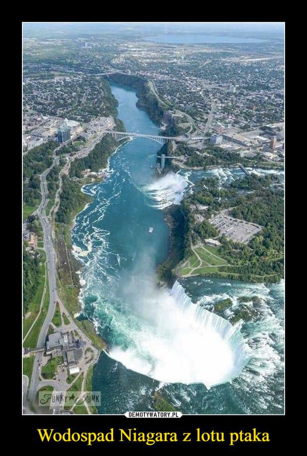 Wodospad Niagara z lotu ptaka –