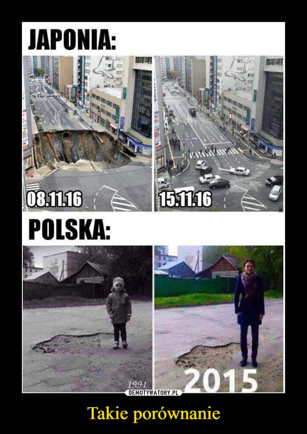 Takie porównanie –  Japonia Polska 08.11.16 15.11.16 2015