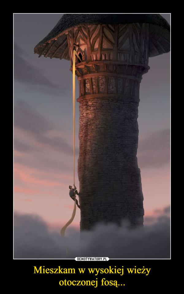 Mieszkam w wysokiej wieżyotoczonej fosą... –