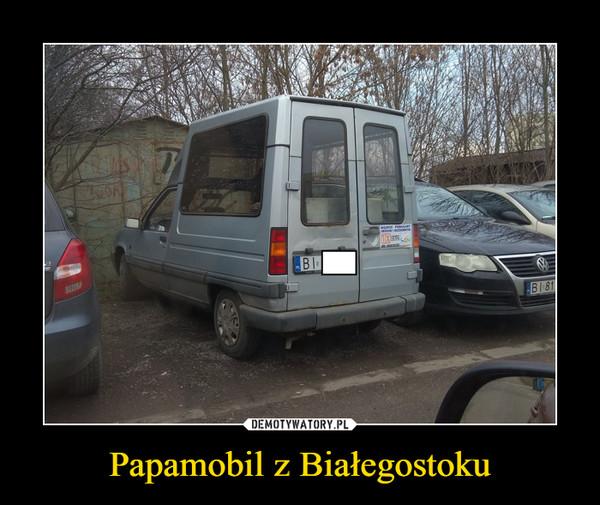Papamobil z Białegostoku –