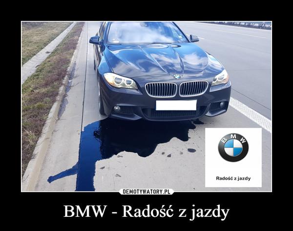 BMW - Radość z jazdy –