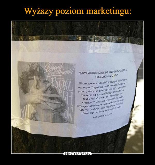 Wyższy poziom marketingu: