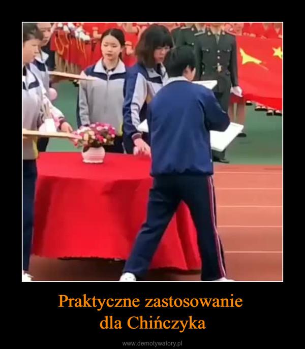 Praktyczne zastosowanie dla Chińczyka –