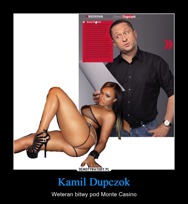 Kamil Dupczok – Weteran bitwy pod Monte Casino