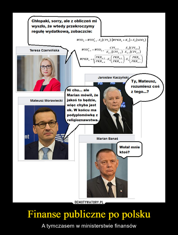 Finanse publiczne po polsku – A tymczasem w ministerstwie finansów