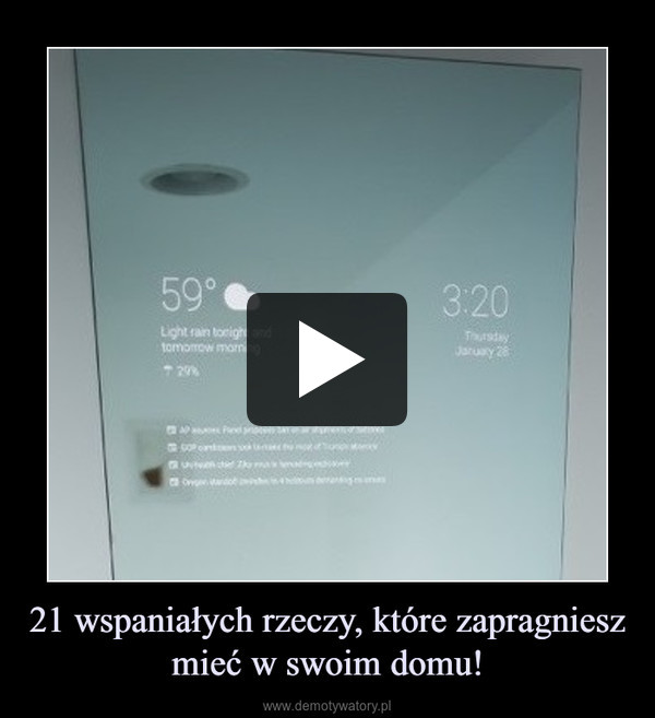 21 wspaniałych rzeczy, które zapragniesz mieć w swoim domu! –
