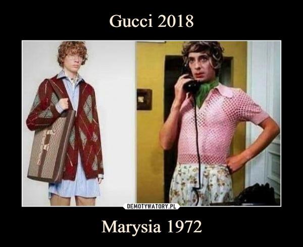 Marysia 1972 –