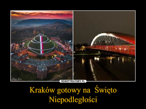 Kraków gotowy na  Święto Niepodległości