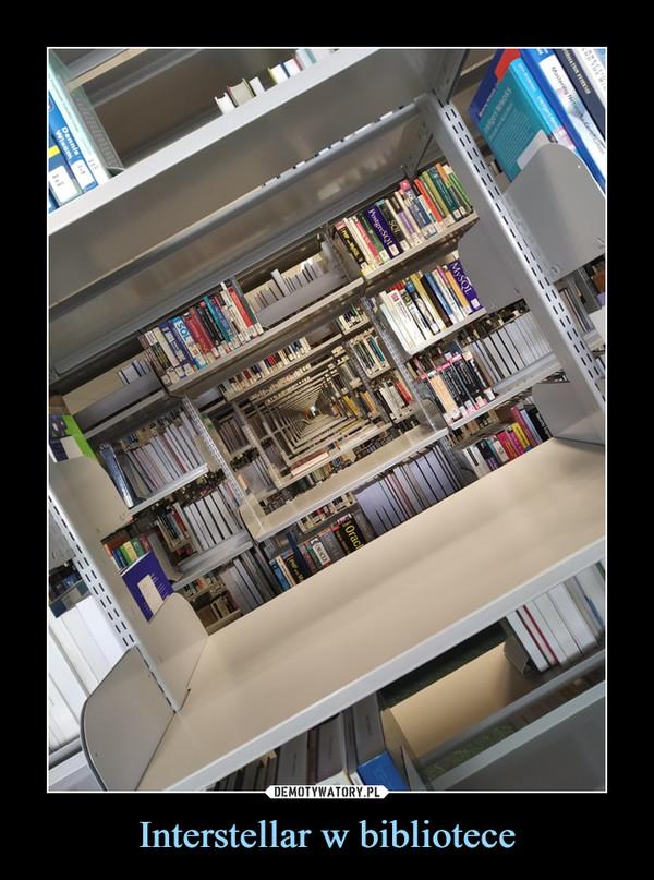 Interstellar w bibliotece –