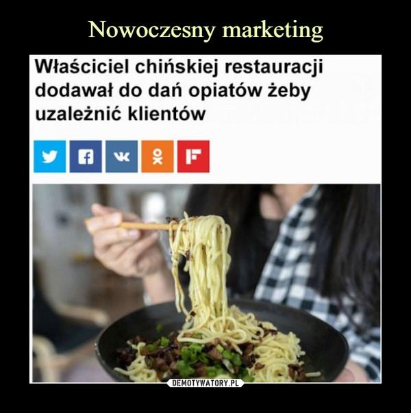 –  Właściciel chińskiej restauracjidodawał do dań opiatów żebyuzależnić klientów