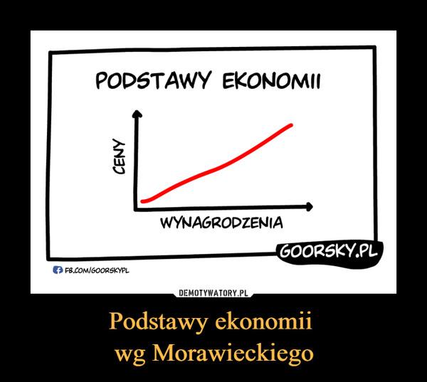 Podstawy ekonomii wg Morawieckiego –  PODSTAWY EKONOMIICENY WYNAGRODZENIA