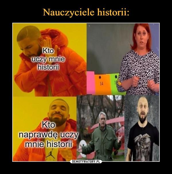 –  Kto uczy mnie historiiKto naprawdę uczy mnie historii