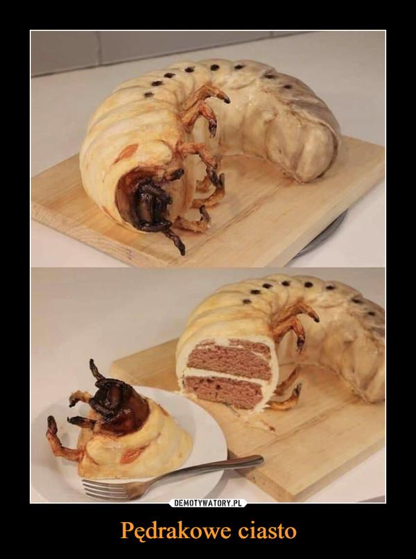 Pędrakowe ciasto –