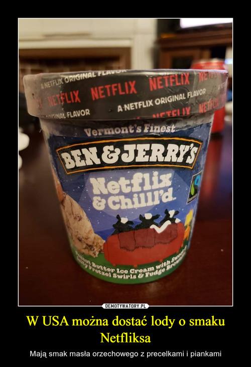 W USA można dostać lody o smaku Netfliksa