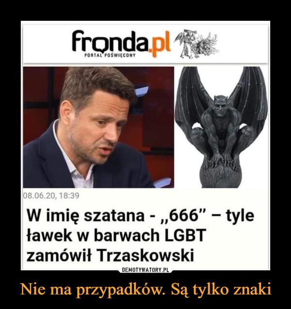 """Nie ma przypadków. Są tylko znaki –  W imię szatana - """"666"""" — tyle ławek w barwach LGBT zamówił Trzaskowski"""