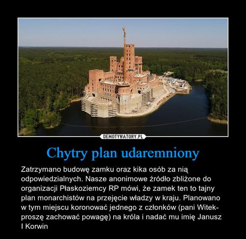 Chytry plan udaremniony