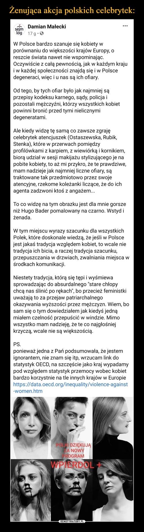 Żenująca akcja polskich celebrytek: