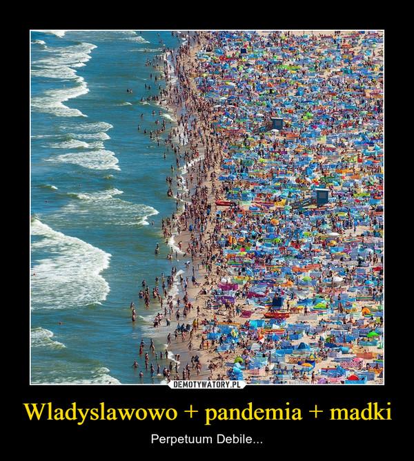 Wladyslawowo + pandemia + madki – Perpetuum Debile...