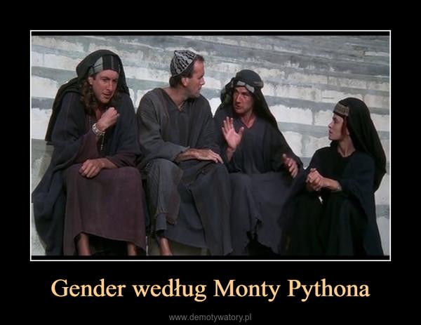 Gender według Monty Pythona –