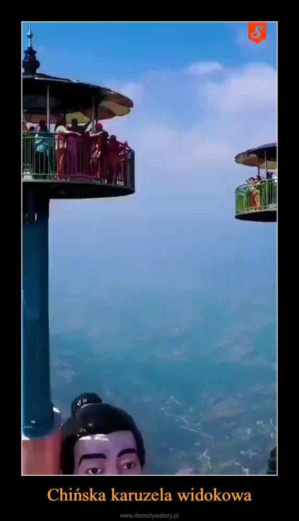 Chińska karuzela widokowa –