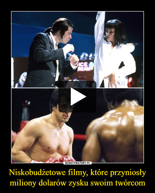 Niskobudżetowe filmy, które przyniosły miliony dolarów zysku swoim twórcom –