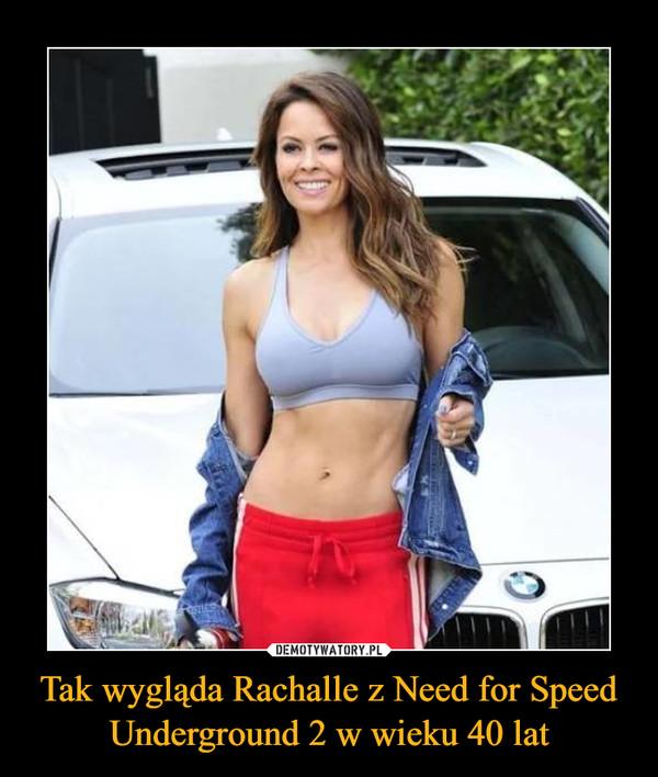 Tak wygląda Rachalle z Need for Speed Underground 2 w wieku 40 lat –