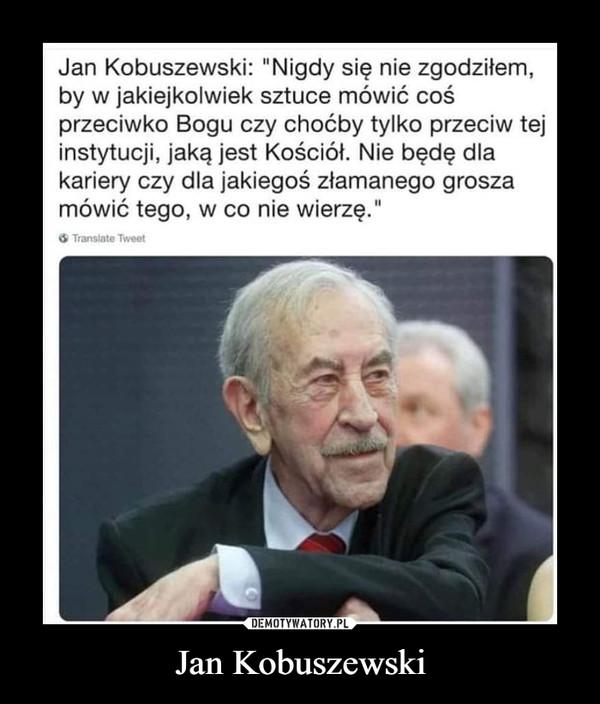 Jan Kobuszewski –