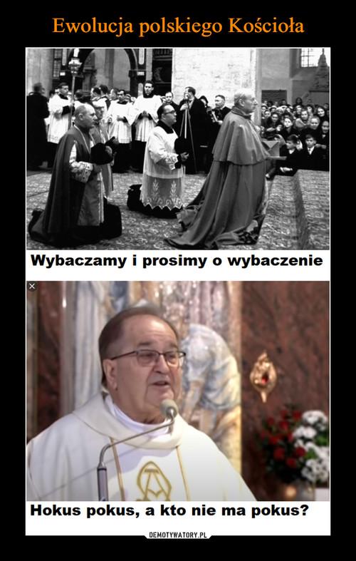 Ewolucja polskiego Kościoła